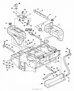 Bunton  Bobcat  Ryan 942240a Zt 226 26hp Gen W  52 U0026quot  Side Discharge Parts Diagram For Fuel Tanks