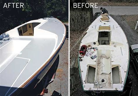 Boat Deck Grip Paint by Tips For Painting A Boat Deck Boatus Magazine