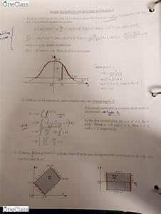 Math 151 Study Guide