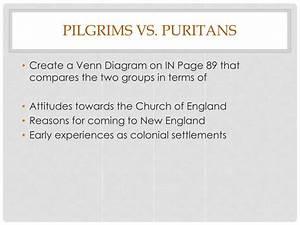 30 Pilgrims Vs Puritans Venn Diagram
