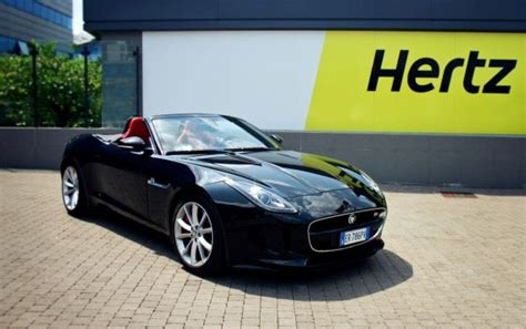 Hertz Launches New Jaguar F-type In Europe Offering Mid