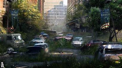 Last Concept Artwork Apocalyptic Wallpapers Nature Am