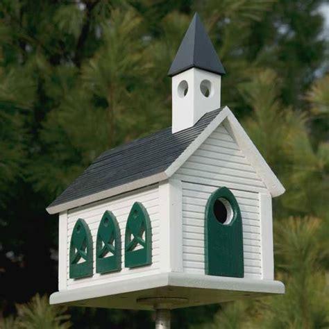 country church birdhouse downloadable plan bird house
