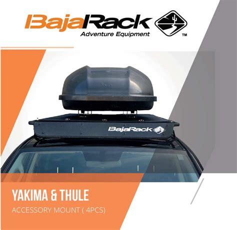 bajarack yakima thule accessory mounts roof rack floor brackets driver mods