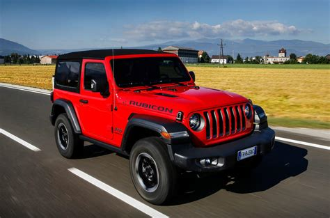 Jeep Wrangler 2018 Review by Jeep Wrangler Jl Rubicon 2dr 2018 Review Autocar