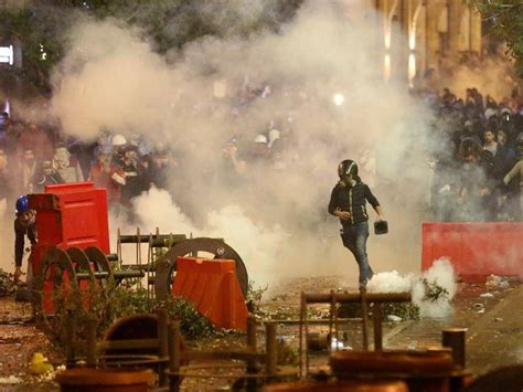 Thousands protest in Lebanon capital | Narooma News ...