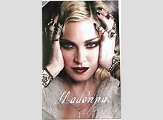 MADONNA 2018 CALENDAR POSTER OFFICIAL LIMITED EDITION