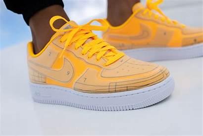 Force Air Nike Orange Lx Laser Sketch