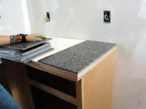24x24 Inch Granite Tile by How To Install A Granite Tile Kitchen Countertop How Tos