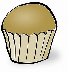 Plain Cupcake Clip Art at Clker.com - vector clip art ...