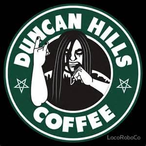 Duncan Hills Coffee T shirt by LocoRoboCo