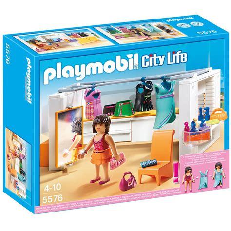 robes de chambre enfants dressing playmobil city 5576 la grande récré