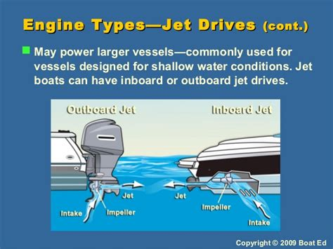 Types Of Boats Engines by Adventures In Boating Wa 2009