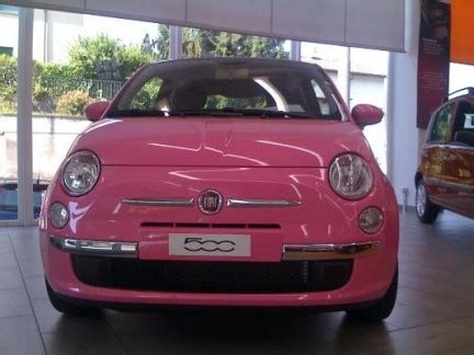 Define Fiat by General Does The Pink Fiat 500 Define The Car The