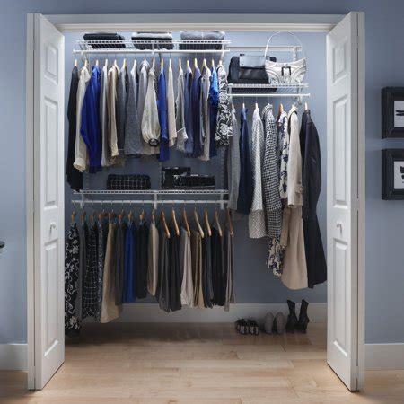 Closetmaid Shelf Track - closetmaid shelftrack closet organizer kit 4 to 6