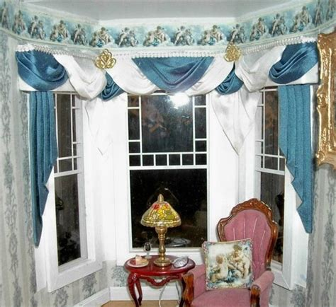17 best images about curtains on bay window