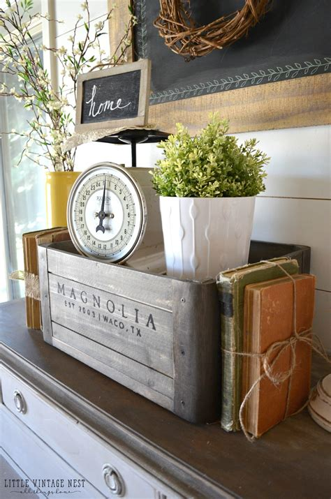 Decorating Ideas With Crates by 5 Ways To Style A Wooden Crate Vintage Nest