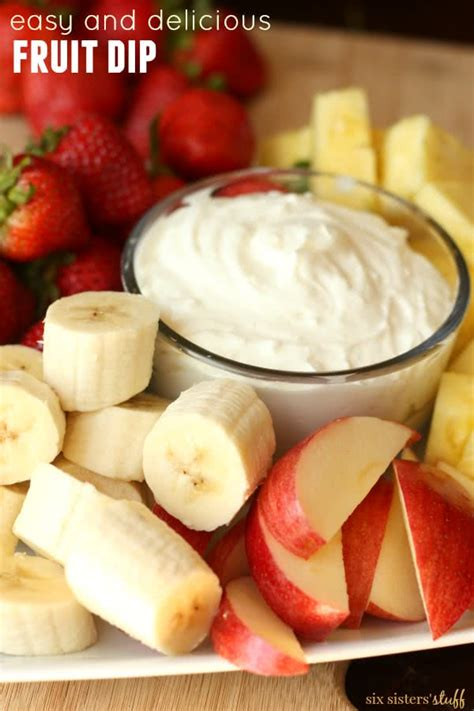 delicious easy dips easy delicious fruit dip six sisters stuff six sisters stuff