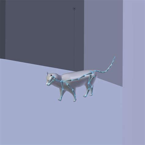 cuisine ik饌 3d cat model blender 3d model 3d printable max blend cgtrader com