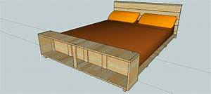 This Week In the Shop: Queen-Sized Bed woodshopcowboy