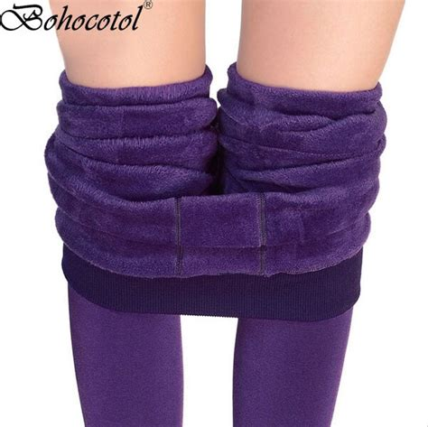 stap op de voet dikke parel fleece winter  fluwelen verdikking legging herfst en vrouwen een