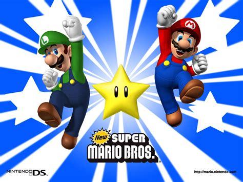 Super Mario Brothers Star Super Mario Bros Wallpaper
