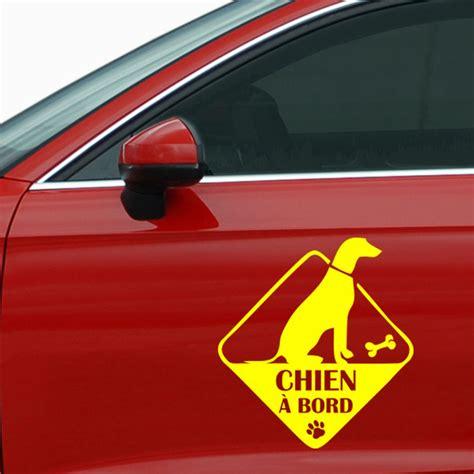 chambre familiale londres sticker auto chien à bord animaux chiens ambiance sticker