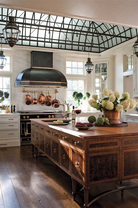 designing  edwardian style kitchen  house journal