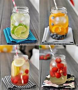 RAW RECIPE: Summer Fruit Infused Waters | Raw Food Betsy