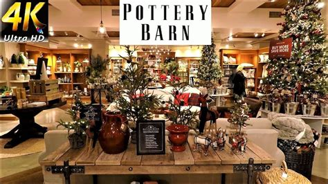 Pottery Barn Christmas Decor  Christmas Decorations