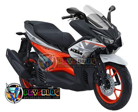 Modifikasi Yamaha Aerox 2017 by Modifikasi Motor Aerox Gtx Concept