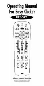 Universal Remote Control Universal Remote Ur3