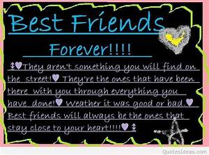 Best friends forever quotes and sayings, pictures cards