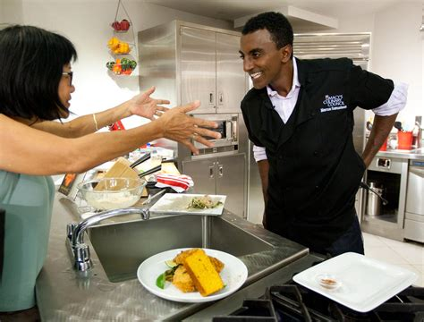 Marcus Samuelsson, Both A Chef And A Brand  The New York
