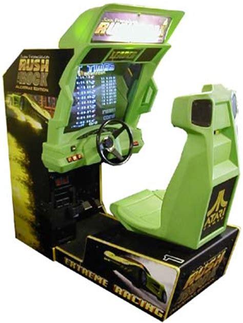 4 Player Arcade Cabinet by San Francisco Rush The Rock Alcatraz Edition Videogame