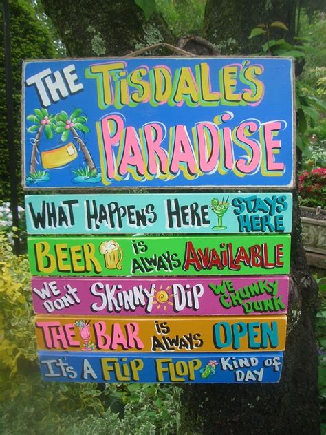 10 small ultimate tropical paradise fran 39 s country tropical signs