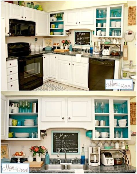 how to paint inside kitchen cabinets 10 totally awesome budget friendly ideas to spruce up your