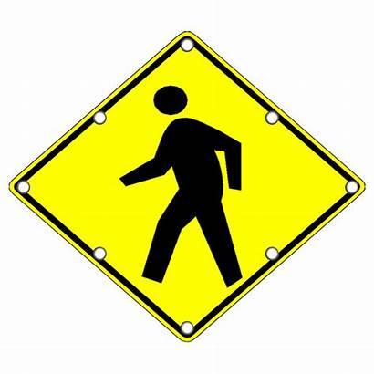 Pedestrian Sign Crossing Signs Led Flashing Traffic
