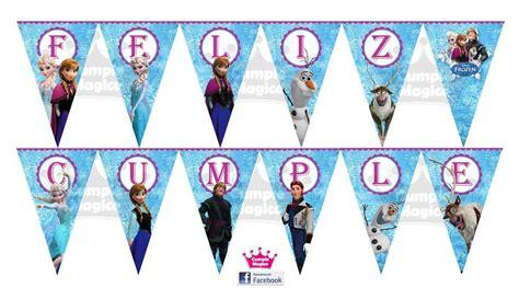 Banderines de Frozen Ideas para el hogar Banderines