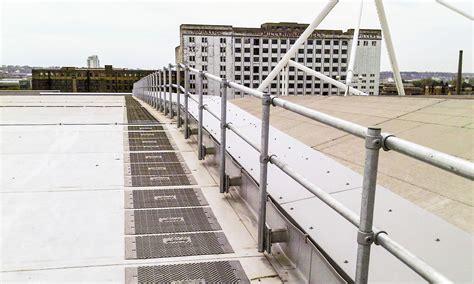 Roof Top Fix Parapet Guardrail