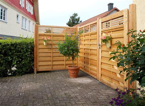 Windschutz Aus Holz by Projekte Terrassen Sichtschutz Schallschutz