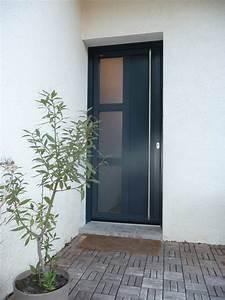 installateur de porte d39entree pvc aluminium isolante With vitrage pour porte d entrée
