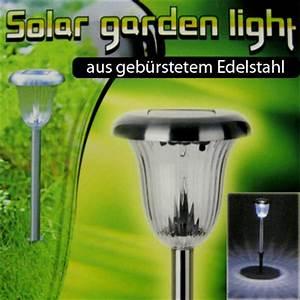 solar lichtcom solarleuchte aus edelstahl fur garten With französischer balkon mit qvc garten solarleuchten