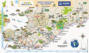 mapa turistico de salvador bahia
