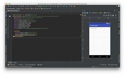 Layout Android Studio Tab Screen Working Pressing