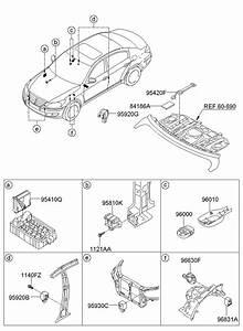 958003m100 - Hyundai Module  Control  Assembly