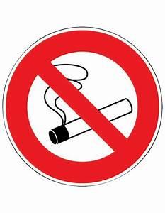 Panneau Interdiction De Fumer : panneau de signalisation rond interdiction de fumer ~ Melissatoandfro.com Idées de Décoration