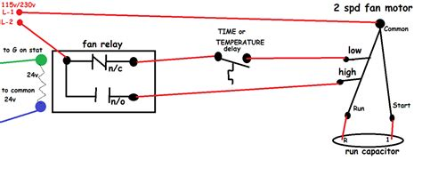 hvac relay wiring diagram hvac how should i wire this white rodgers fan and limit what about the thermostat