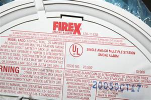 Firex Smoke Alarms Instructions