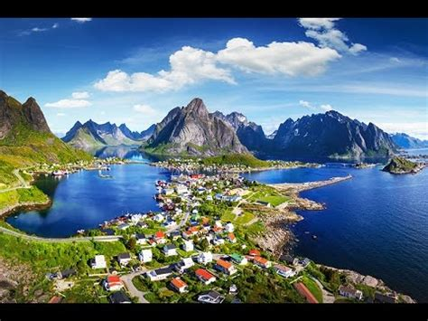 norway nature  aerial drone video youtube